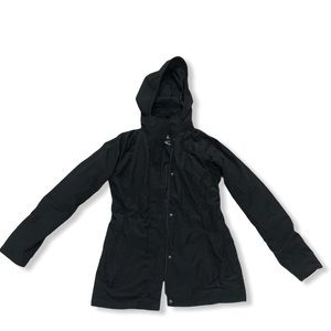 Northface trench coat hyvent sz small flaws